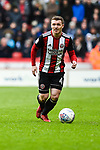 John Fleck of Sheffield Utd  during the Championship league match at Bramall Lane Stadium, Sheffield. Picture date 28th April, 2018. Picture credit should read: Harry Marshall/Sportimage