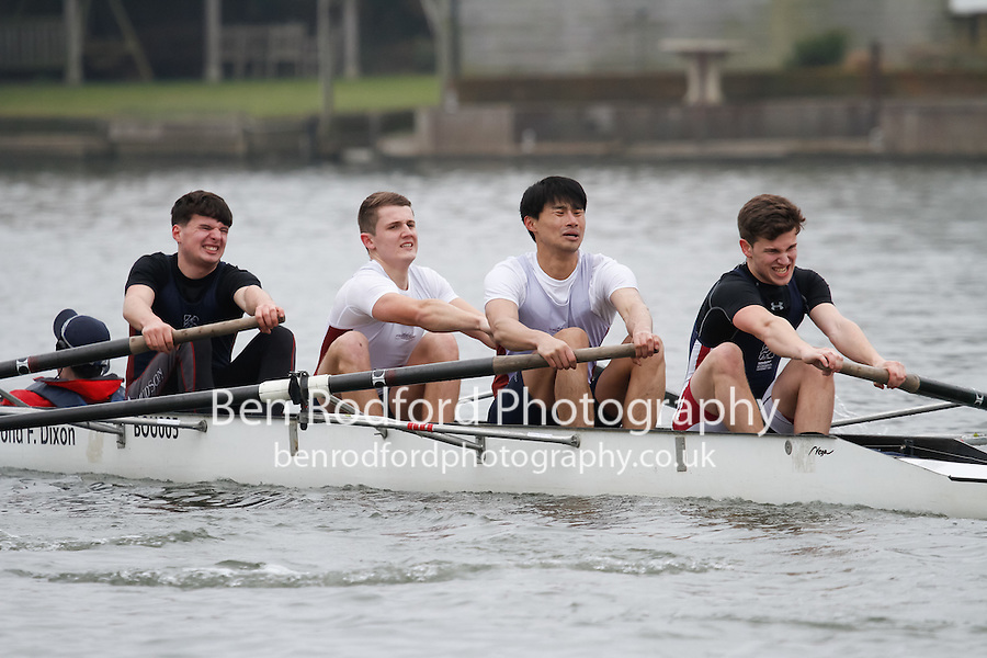 Crew: 75 - Bournemouth Univ  - NOV.4+ <br /> <br /> Henley Fours &amp; Eights Head 2017<br /> <br /> To purchase this photo, or to see pricing information for Prints and Downloads, click the blue 'Add to Cart' button at the top-right of the page.