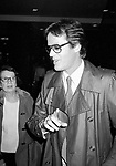 Peter Fonda leaving the NBC Building on January 4, 1981 in New York City.