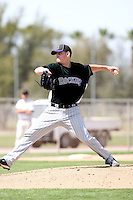 Tyler Matzek, Colorado Rockies, 2010 minor league spring training. .Photo by:  Bill Mitchell/Four Seam Images.