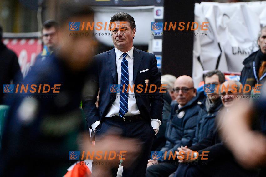 Walter Mazzarri Inter<br /> Milano 26-01-2014 Stadio Giuseppe Meazza - Football 2013/2014 Serie A. Inter - Catania Foto Giuseppe Celeste / Insidefoto