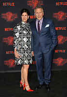 Paul Reiser &amp; Paula Ravets at the premiere for Netflix's &quot;Stranger Things 2&quot; at the Westwood Village Theatre. Los Angeles, USA 26 October  2017<br /> Picture: Paul Smith/Featureflash/SilverHub 0208 004 5359 sales@silverhubmedia.com