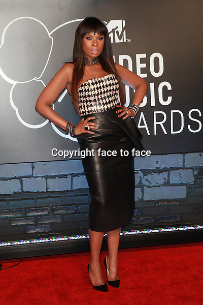 Jennifer Hudson at the 2013 MTV Video Music Awards at the Barclays Center in New York, 25.08.2013.<br /> Credit: MediaPunch/face to face<br /> - Germany, Austria, Switzerland, Eastern Europe, Australia, UK, USA, Taiwan, Singapore, China, Malaysia, Thailand, Sweden, Estonia, Latvia and Lithuania rights only -
