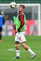 Daniel Maldini of AC Milan during the Serie A football match between AC Milan and Atalanta BC at stadio Giuseppe Meazza in Milano ( Italy ), July 24th, 2020. Play resumes behind closed doors following the outbreak of the coronavirus disease. <br /> Photo Image Sport / Insidefoto