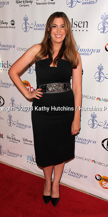 LOS ANGELES - AUG 16:  Nina Weinman at the 28th Annual Imagen Awards at the Beverly Hilton Hotel on August 16, 2013 in Beverly Hills, CA