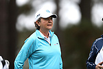 CHAPEL HILL, NC - OCTOBER 13: North Carolina head coach Jan Mann. The first round of the Ruth's Chris Tar Heel Invitational Women's Golf Tournament was held on October 13, 2017, at the UNC Finley Golf Course in Chapel Hill, NC.