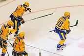 June 5th 2017, Nashiville, TN, USA;  Nashville players skate towards Predators bench after goal by Nashville Predators right wing Viktor Arvidsson (38) during game 4 of the 2017 NHL Stanley Cup Finals between the Pittsburgh Penguins and Nashville Predators