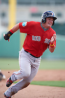 Boston Red Sox Tate Matheny (38) during an Instructional League game against the Minnesota Twins on September 23, 2016 at JetBlue Park at Fenway South in Fort Myers, Florida.  (Mike Janes/Four Seam Images)
