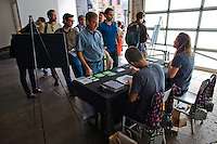 Workshop at Luminance 2012 presented by PhotoShelter at Root Drive-In Studios in New York City.. Copyright 2012 © Michael J. Treola / PhotoShelter Inc  http://www.michaeltreola.com