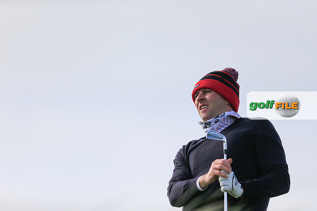 Robert Cannon (Balbriggan) during the second round of matchplay at the West of Ireland, Co Sligo golf club, Rosses Point, Sligo. 16/04/2017.<br /> Picture: Golffile | Fran Caffrey<br /> <br /> <br /> All photo usage must carry mandatory copyright credit (&copy; Golffile | Fran Caffrey)
