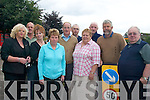 TRAFFIC: Residents of Iveragh Road in Killorglin who are concerned about parking outside their estates, front, l-r: Helen O'Shea, Kathleen Cronin, Maureen Gamble, Marian Ahern, Cllr Johnny O'Connor, Patsy Cronin. Back, l-r: Pat Ahern, Tom Foley, John Sheahan, Joseph Crowe.    Copyright Kerry's Eye 2008