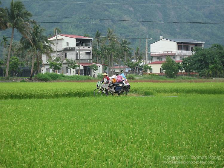 Meinong, Taiwan -- A sleepy Hakka village famous for its hand-made oil paper umbrellas.