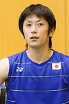 Kenta Kazuno (JPN), JULY 19, 2016 - Badminton : Training for Rio Olympic Games in Tokyo, Japan. (Photo by Sho Tamura/AFLO SPORT)