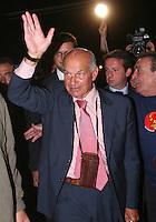 Roma, 11/09/2006 Festa di Liberazione a Piramide. Nella foto Fausto Bertinotti, Presidente della Camera dei Deputati.<br /> Photo Samantha Zucchi INSIDE