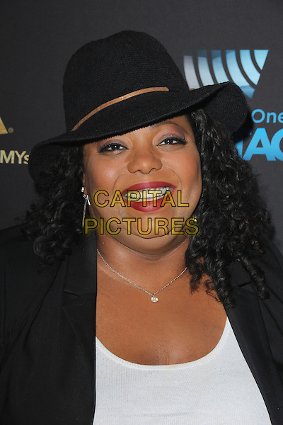 LOS ANGELES, CA - FEBRUARY 12: Cocoa Brown at the 2016 Grammys Radio Row Day 1 presented by Westwood One, Staples Center, Los Angeles, California on February 12, 2016.   <br /> CAP/MPI/DE<br /> &copy;DE//MPI/Capital Pictures