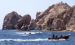 Cabo San Lucas is a city at the southern tip of the Baja California peninsula, in the Mexican state of Baja California Sur. <br /> Photo by Deirdre Hamill/Quest Imagery