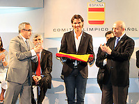 2012.07.14 PRESENTACION ABANDERADO ESPAÑA JJOO LONDRES 2012
