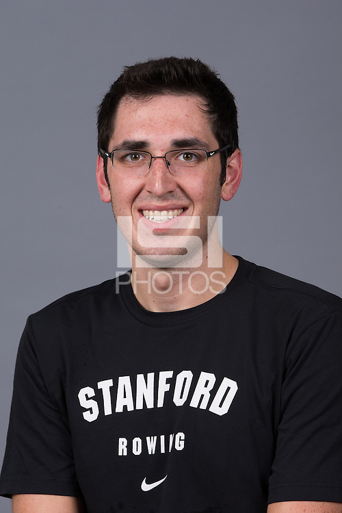 Stanford, California - October 2, 2014:  Stanford Men's Rowing portraits.