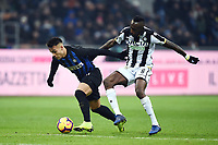 Lautaro Martinez Inter,-Seko Fofana Udinese.<br /> Milano 15-12-2018 Stadio San Siro Football Calcio Serie A 2018/2019 Inter - Udinese   <br /> Foto Image Sport / Insidefoto
