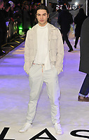 George Shelley at the &quot;Glass&quot; UK film premiere, Curzon Mayfair, Curzon Street, London, England, UK, on Wednesday 09 January 2019.<br /> CAP/CAN<br /> &copy;CAN/Capital Pictures