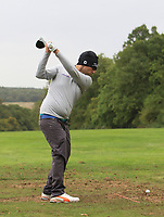 Neil O'Briain (IRL) on the driving range during Pro-Am of the Bridgestone Challenge 2017 at the Luton Hoo Hotel Golf &amp; Spa, Luton, Bedfordshire, England. 06/09/2017<br /> Picture: Golffile | Thos Caffrey<br /> <br /> <br /> All photo usage must carry mandatory copyright credit (&copy; Golffile | Thos Caffrey)