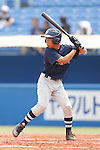Hiroto Oki, AUGUST 4, 2015 - Baseball : All Japan Little-Senior Baseball Championship final match between Omiya senior 7-3 Edogawa Chuo senior at Jingu stadium in Tokyo, Japan. (Photo by Yusuke Nakanishi/AFLO SPORT)