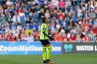 Bridgeview, IL - Sunday June 25, 2017: Kailen Sheridan during a regular season National Women's Soccer League (NWSL) match between the Chicago Red Stars and Sky Blue FC at Toyota Park. The Red Stars won 2-1.