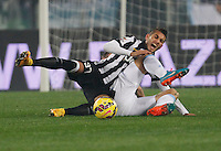 Roberto Pereyra   in action during the Italian Serie A soccer match between   SS Lazio and FC Juventus   at Olimpico  stadium in Rome , November 22, 2014