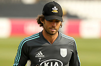 Ben Foakes of Surrey leaves the field following the warm up prior to Essex Eagles vs Surrey, Vitality Blast T20 Cricket at The Cloudfm County Ground on 11th September 2020
