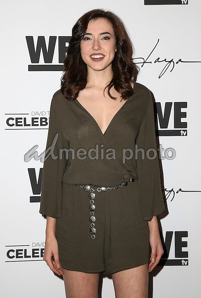 """29 January 2016 - Hollywood, California - Samantha Jane. """"Daya"""" By Zendaya Shoe Line Launch Party to be featured on an upcoming episode of WE tv's David Tutera's CELEBrations held at Raleigh Studios. Photo Credit: Parisa Michelle/AdMedia"""