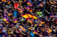 Spain flag during the match of  Copa del Rey (King's Cup) Final between Deportivo Alaves and FC Barcelona at Vicente Calderon Stadium in Madrid, May 27, 2017. Spain.. (ALTERPHOTOS/Rodrigo Jimenez) /NortePhoto.com