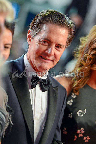 "25 May 2017 - Cannes, France - Kyle MacLachlan. ""Twin Peaks"" Premiere - The 70th Annual Cannes Film Festival. Photo Credit: Jan Sauerwein/face to face/AdMedia"