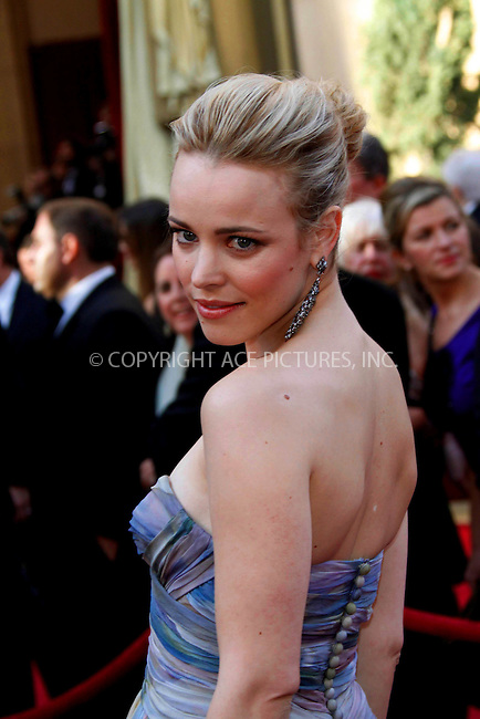 WWW.ACEPIXS.COM . . . . .  ....March 7 2010, Hollywood, CA....Actress Rachel McAdams at the 82nd Annual Academy Awards held at Kodak Theatre on March 7, 2010 in Hollywood, California.....Please byline: Z10-ACE PICTURES... . . . .  ....Ace Pictures, Inc:  ..Tel: (212) 243-8787..e-mail: info@acepixs.com..web: http://www.acepixs.com