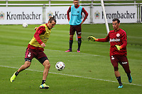 04.10.2016: Eintracht Frankfurt Training