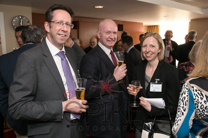Left to right are Michael Lodge of Nelsons, Alistair Wesson of Mazars and Alice Rees of Nelsons