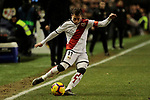 Rayo Vallecano's Adrian Embarba during La Liga match between Rayo Vallecano and CD Leganes at Vallecas Stadium in Madrid, Spain. February 04, 2019. (ALTERPHOTOS/A. Perez Meca)