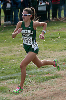 Nerinx Hall senior Sophia Racette powers to the finish line to take runner-up honors and lead the Lady Markers to the team victory in Class 4 at the 2014 MSHSAA State Cross Country Championship in Jefferson City, MO. Saturday, November 8.