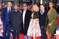 David Walliams, Ant McPartlin, Simon Cowell, Amanda Holden, Declan Donelley and Alesha Dixon<br /> arrives for the Britain's Got Talent 2018 auditions, Palladium Theatre, London<br /> <br /> <br /> ©Ash Knotek  D3373  28/01/2018