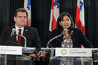 FILE PHOTO - Paris Mayor Anne Hildago visit to Montreal,Canada in June 2015.<br /> <br /> PHOTO : Pierre Roussel<br /> - Agence Quebec Presse