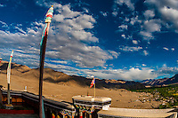 Thiksey Monastery, near Leh, Ladakh, Jammu and Kashmir State, India.