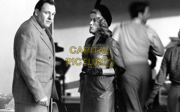 James Gandolfini, Frances McDormand<br /> in The Man Who Wasn't There (2001) <br /> *Filmstill - Editorial Use Only*<br /> CAP/FB<br /> Image supplied by Capital Pictures