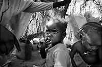 El Fasher, North Darfur, August 22, 2004.IDP's in Zamzam camp.
