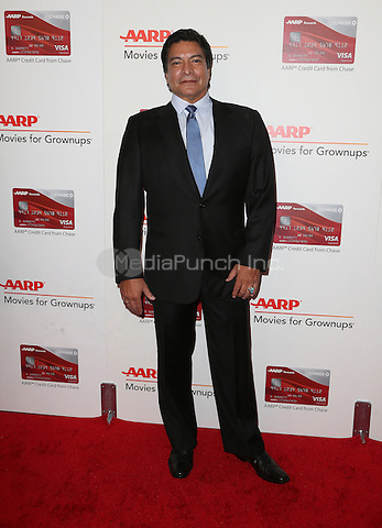 Beverly Hills, CA - FEBRUARY 06:  Gil Birmingham, At 16th Annual AARP The Magazine's Movies For Grownups Awards, At The Beverly Wilshire Four Seasons Hotel In California on February 06, 2017. Credit: Faye Sadou/MediaPunch
