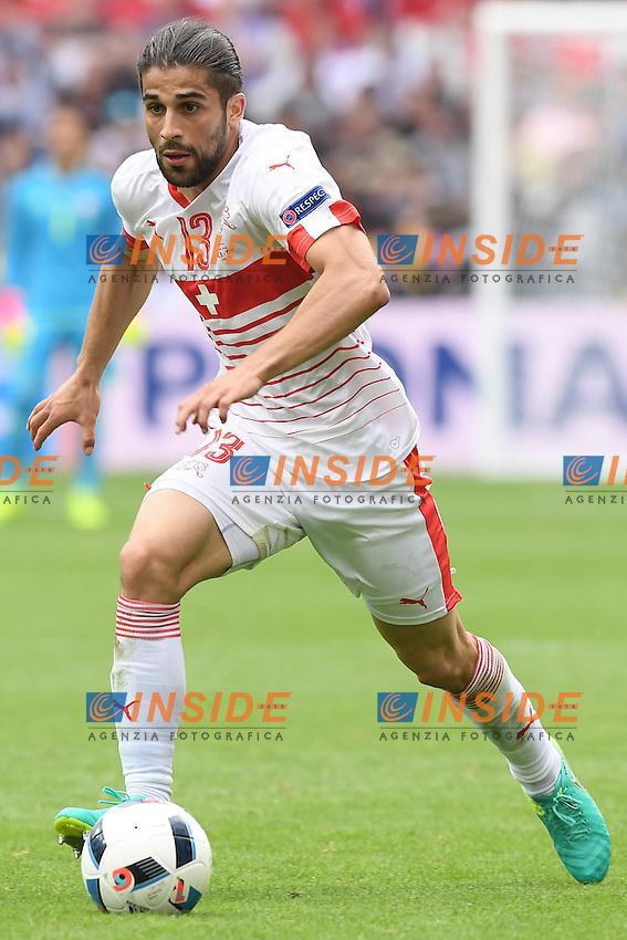 \Lens 11-06-2016 Stade Bollaert-Delelis Football  - Euro 2016 / Albania - Switzerland / foto Matteo Gribaudi/Image Sport/Insidefoto<br /> nella foto: Ricardo Rodriguez