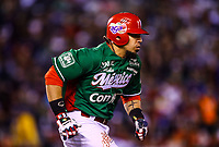 Sebastian Elizalde. <br /> Actions of the Caribbean Series baseball game with the match of Tomateros of Culiacan de Mexico against the Criollos de Caguas of Puerto Rico in baseball stadium Charros de Jalisco in Guadalajara, Mexico, Friday, February 2, 2018. (AP Photo / Luis Gutierrez )