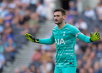 Hugo Lloris of Tottenham Hotspur during the Premier League match between Tottenham Hotspur and Crystal Palace at Wembley Stadium, London, England on 14 September 2019. Photo by Vince  Mignott / PRiME Media Images.