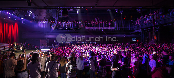 LAS VEGAS, NV - April 20, 2017: ***HOUSE COVERAGE*** Kehlani Ashley Parrish AKA KEHLANI performs at Brooklyn Bowl Las Vegas at The Linq Promenade in Las Vegas, NV on April  20, 2017. Credit: Erik Kabik Photography/ MediaPunch