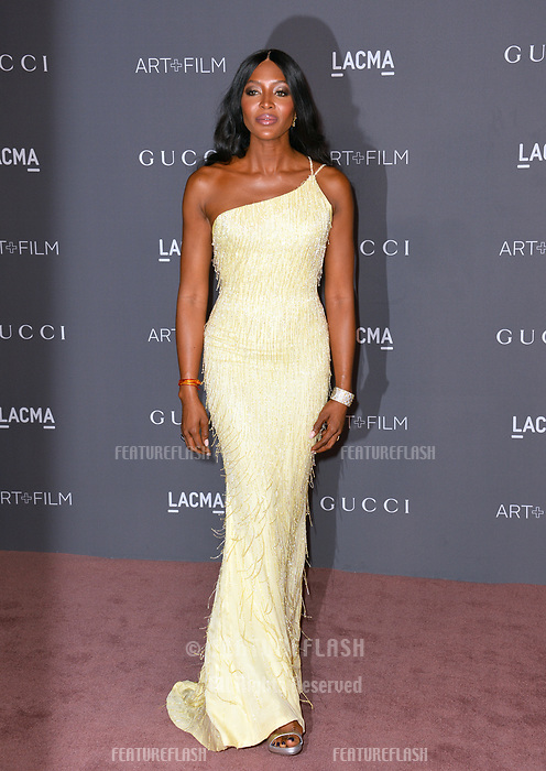 Naomi Campbell at the 2017 LACMA Art+Film Gala at the Los Angeles County Museum of Art, Los Angeles, USA 04 Nov. 2017<br /> Picture: Paul Smith/Featureflash/SilverHub 0208 004 5359 sales@silverhubmedia.com