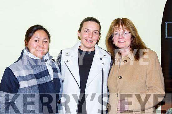 Irene, Zara and Iris Hussain Inch at the Carol service in St Michaels church Killorglin on Sunday night