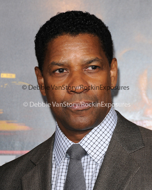 Denzel Washington attends the Twentieth Century Fox's L.A. Premiere of Unstoppable held at Regency Village Theater in Westwood, California on October 26,2010                                                                               © 2010 Hollywood Press Agency